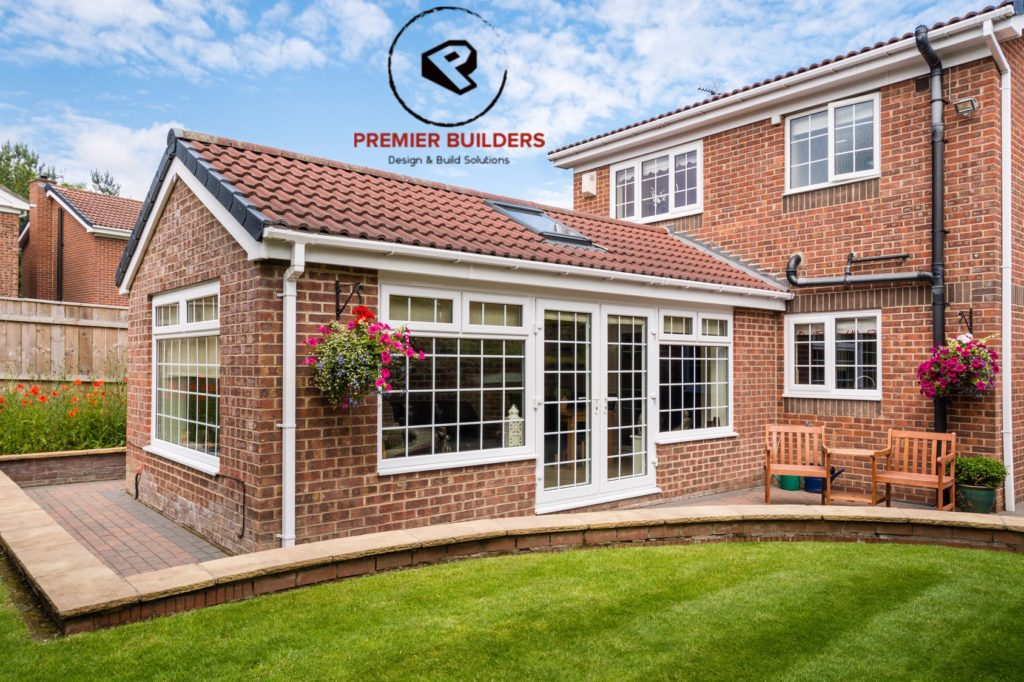 Top Quality House Extension East Wall